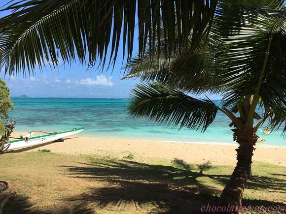 謎のビーチ