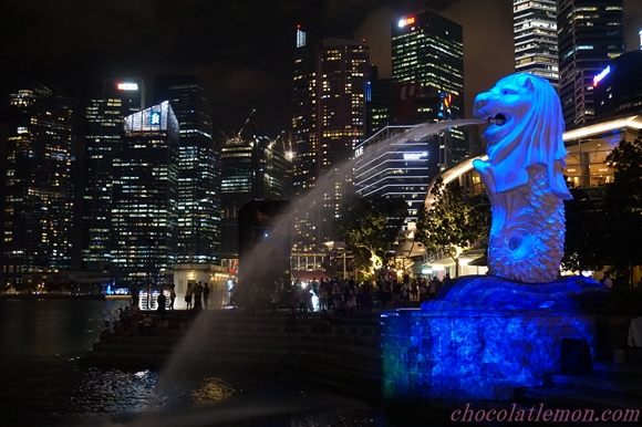 Merlion-night1