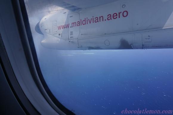 空からモルディブ14