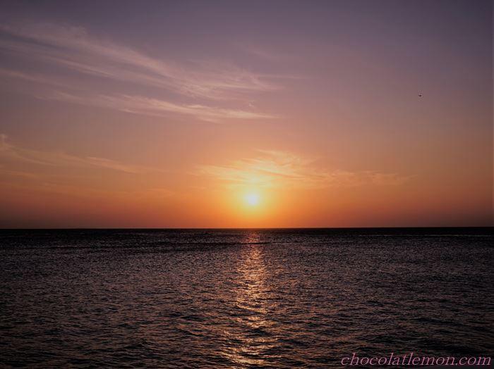 モルディブの夕日2