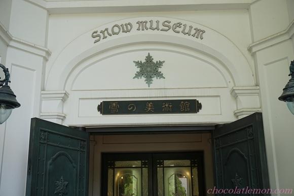 雪の美術館5