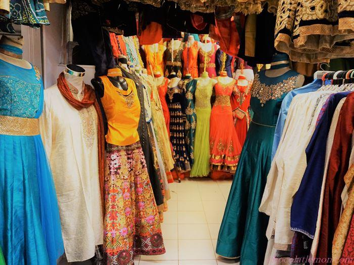 テッカセンターのドレス