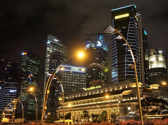 フラトンホテル夜景