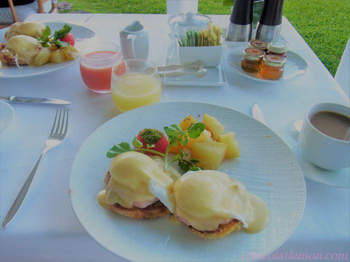 ハレクラニ朝食2