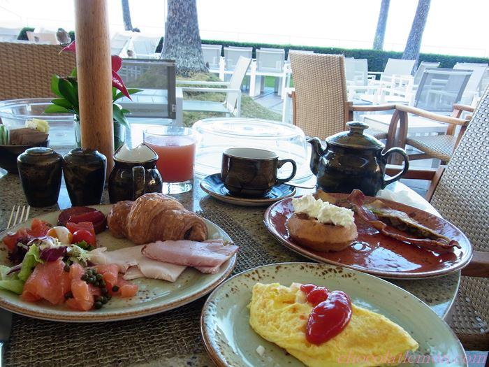 ハレクラニ朝食4